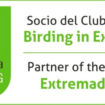 socio del club de producto birding in extremadura